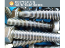GB5783外六角(GB5783 Hexagon head bolts)